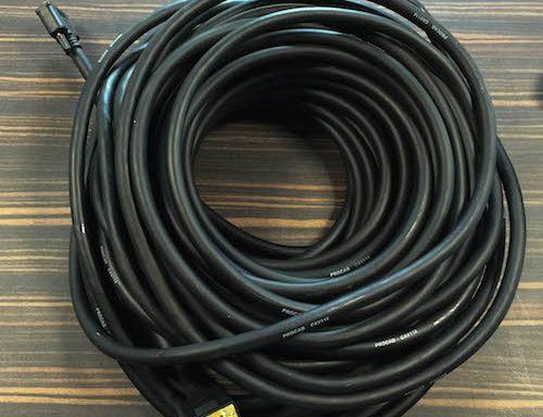 Lange VGA-kabel